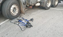 Cyclist killed in crash when truck driver failed to see cyclist at intersection in Kempton Park