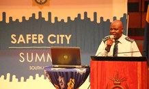 National Commissioner hosts National #SaferCity Summit.