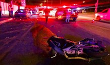 Biker sustains fractures in collision in Fourways