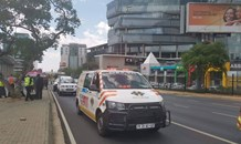 Building evacuated following bomb threat in Sandton