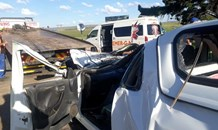 Collision on the R714 bewteen a bakkie and tractor leaves multiple patients injured
