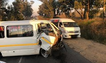 Three vehicle collision leaves multiple injured on the R114