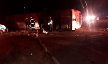 9 Killed in bus rollover in Welkom