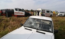 Pedestrian vehicle crash in Pretoria