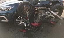 One seriously injured in a motorbike collision in Randburg