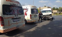 Taxi collision leaves multiple injured in Randburg