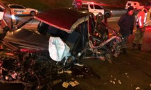 Two seriously injured in Randburg crash
