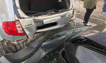 One injured in a three vehicle collision in Ranburg