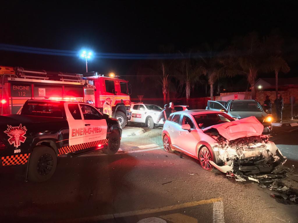 Fatal collision at R28 and Robert Broom, Krugersdorp