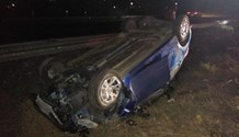 Three injured in a collision on the R102