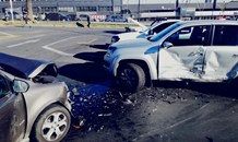 Two vehicle collision leaves one injured in Germiston