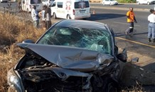 Head on Collision on the R40 leaves two injured