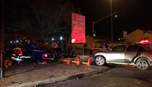 Three injured in collision at intersection in Bloemfontein