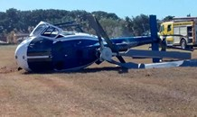 No serious injuries as police helicopter crashes at Virginia Airport in KZN