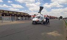 Patient airlifted after fall from height in Boksburg
