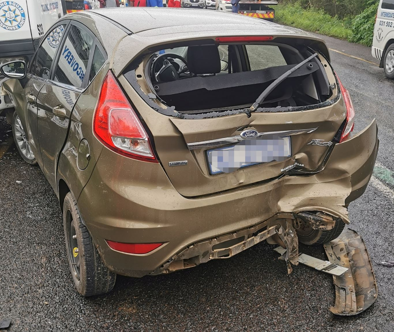 Four Injured In Secondary Collision in Cottonlands, KZN