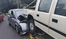 Elderly patient treated after collision in Constantia Kloof