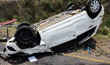 Two injured in vehicle rollover near Clarens