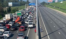 ER24 urges all motorists to please refrain from using the emergency lane and make way for emergency vehicles.