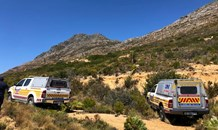 Elderly tourist from Switzerland rescued after collapsing in mountains above Simon's Town