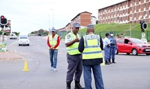 KZN MEC Ntuli inspects law enforcement at taxi ranks and major points of entry