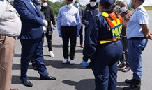 SAPS Management visit COVID-19 Lockdown Operations in the Free State