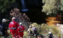 A man was rescued after falling while hiking in Du Toitskloof Pass