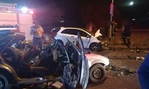 One dead , four injured injured in a head on collision in Bloemfontein
