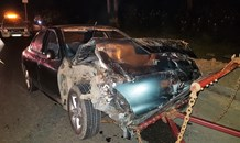 4 injured in head-on crash on Bellair Road near Booth Road