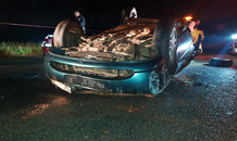Two killed, two injured in vehicle rollover on the R501 in Carletonville