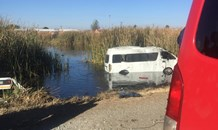 16 injured as taxi rolls into swamp in Welkom