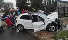 Three-vehicle collision leaves five injured in Alberton