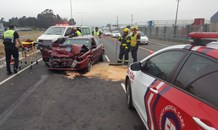 Three-vehicle collision leaves four injured on the N2