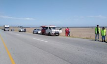Pedestrian killed when struck by a light motor vehicle in Melkbosstrand