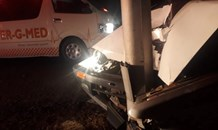 Two injured in R26 collision