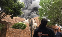 Structural fire in Randburg