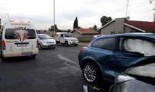 Two-vehicle collision leaves one injured in Boksburg