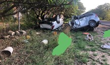Head-on collision leaves 9 dead on the R532