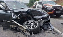 Two injured in a head-on collision in Douglasdale