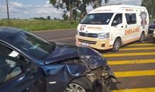 One injured in Tarlton collision