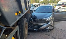 One injured in a collision between a car and truck in Maraisburg