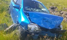 One injured in a two-vehicle collision in Harrismith