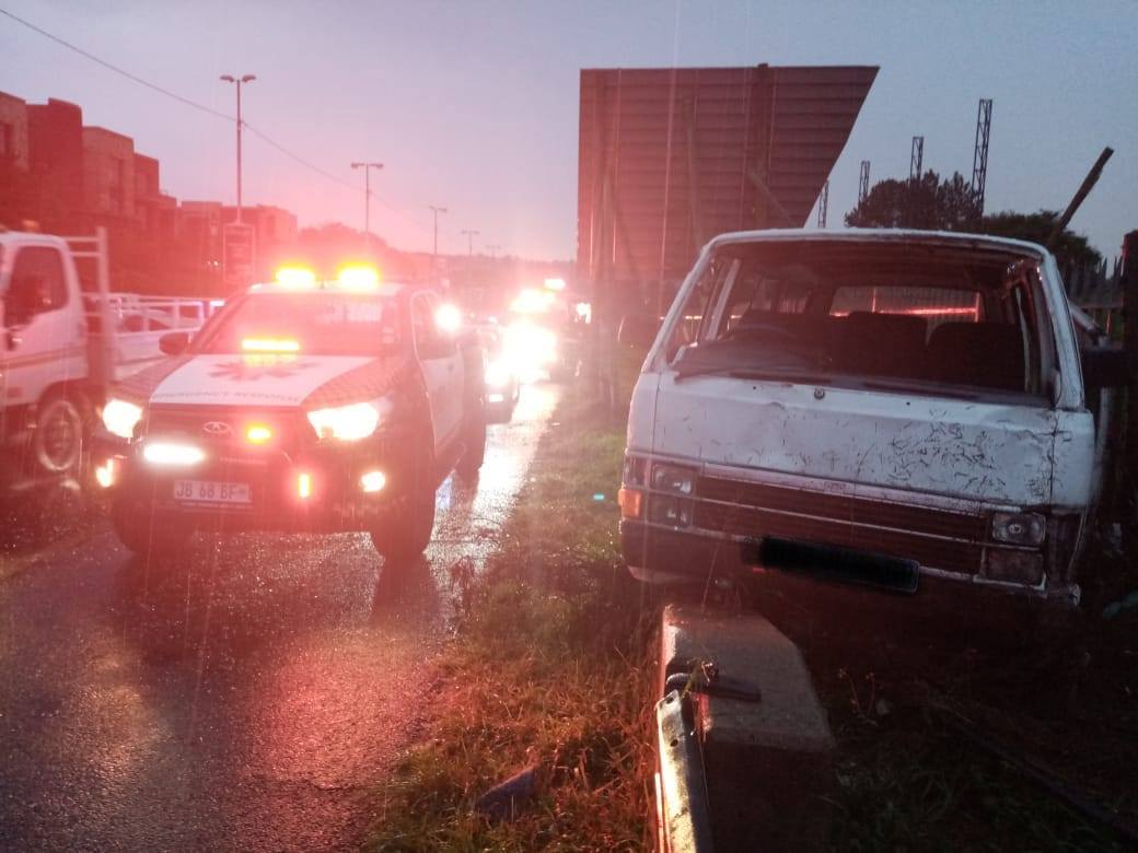 Multiple injured in a taxi collision on the M1