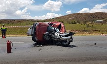 Driver killed, biker critical in a highway collision in Heidelberg