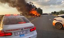 Gauteng: Cash in transit robbery on Malibongwe Drive in Randburg