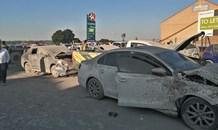 Gauteng: Multiple vehicles destroyed in Roodepoort crash