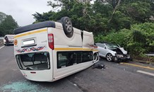 Multiple injured in Westville taxi collision