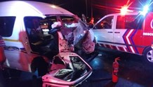 One killed, five injured in three-vehicle collision in Dobsonville