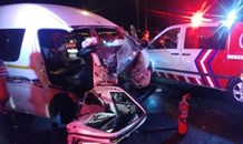 One killed, five injured in three-vehicle collision in Dobsonville, West of Johannesburg