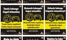 Northern Cape Department of Transport is declaring war on alcohol abuse during a Weekend of Sobriety.